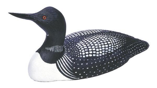 Loon Lake Decoy Company Miniature Loon