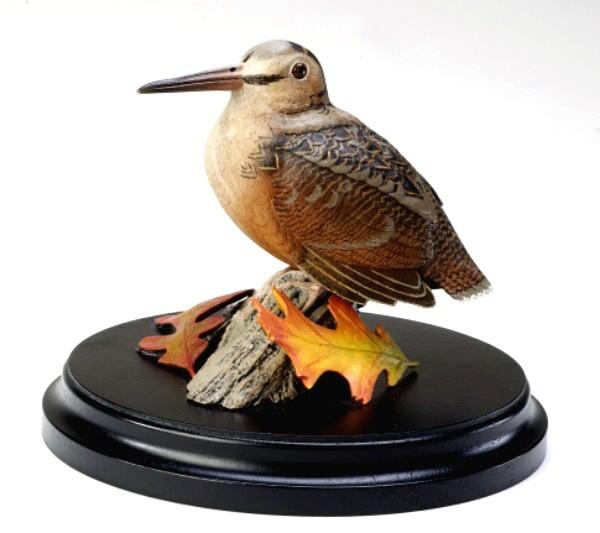 Loon Lake Decoy Company Miniature Woodcock